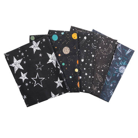 The Craft Cotton Co Outer Space Fat Quarter Pack