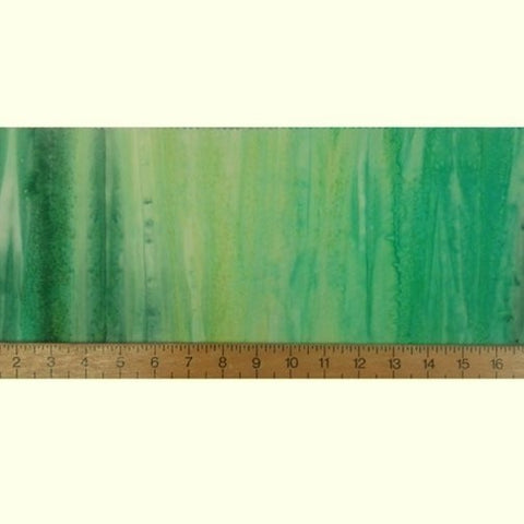 Sew Simple Batik Landscapes - 15 Green - 100% Cotton Fabric