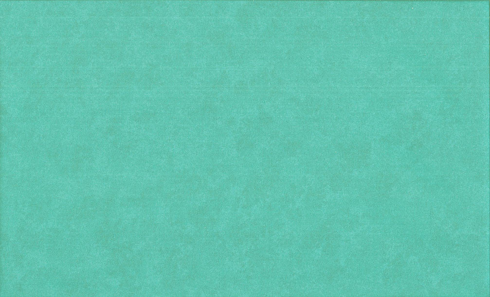 Makower Spraytime Tiffany Blue Fabric - 100% Cotton Quilting Fabric UK