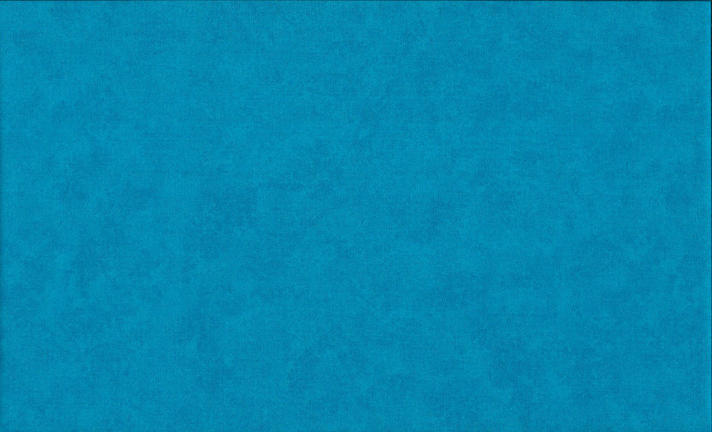 Makower Spraytime - Turquoise Fabric | 100% Cotton Quilting Fabric