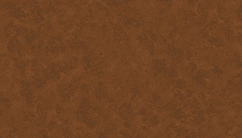 Makower Spraytime - Conker Brown V62 - 100% Cotton Fabric