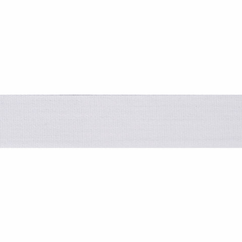 6mm Cotton Stay Tape - White