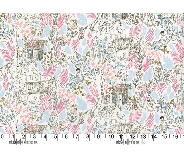 Michael Miller Peter Pan by Sarah Jane - The Little House Blom - 100% Cotton Fabric