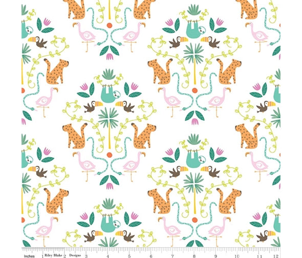 Riley Blake Under the Canopy - Main White - 100% Cotton Fabric