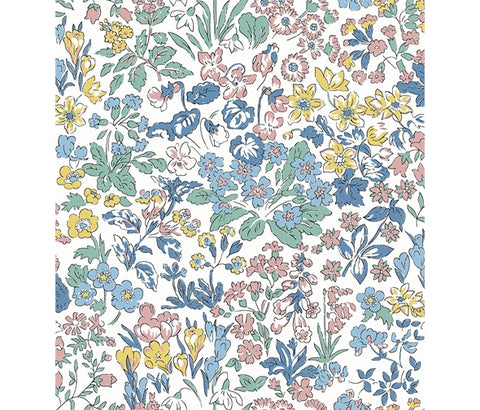 Liberty Flower Show Spring - Wisley Flowers - Lasenby Quilting Cotton Fabric