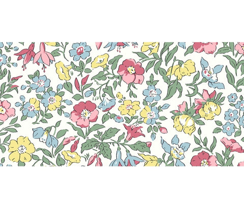 Liberty Flower Show Spring - Mamie - Lasenby Quilting Cotton Fabric