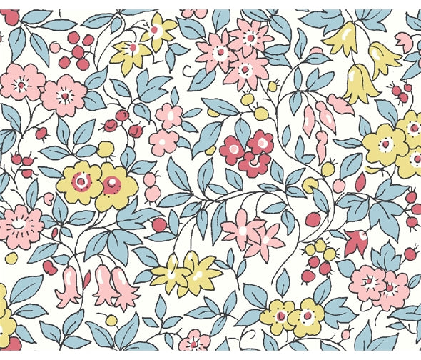 Liberty Flower Show Spring - Forget Me Not Blossom - Lasenby Quilting Cotton Fabric