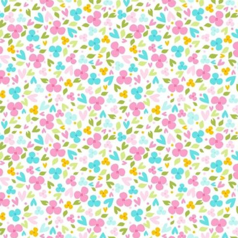 Studio E Sew Kind - Ditsy Floral - 100% Cotton Fabric