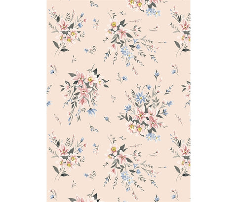 Liberty Winterbourne House - Winterbourne Bouquet - Lasenby Quilting Cotton Fabric