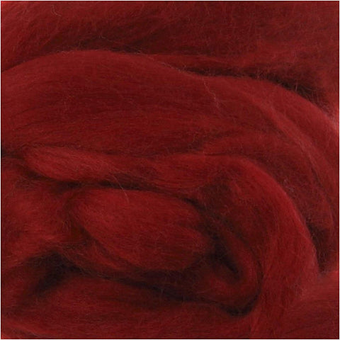 Merino Wool 10g - Dark Red