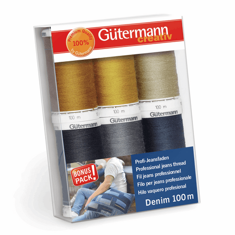 Gutermann Denim Thread Set 6pk