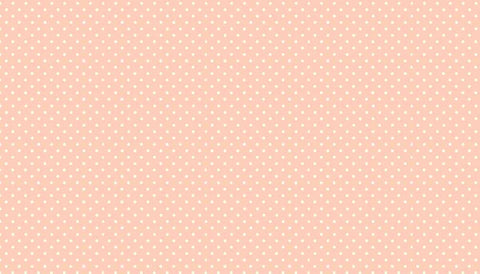 Makower Spot On - Dusky Pink - 100% Cotton Fabric