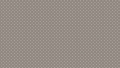 Makower Spot On - Steel Grey - 100% Cotton Fabric
