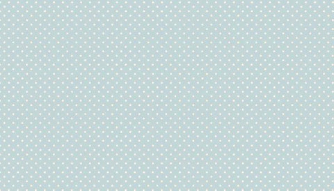 Makower Spot On - Baby Blue - 100% Cotton Fabric