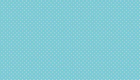 Spot On Sky -  Blue Polka Dot Fabric by Makower | 100% Cotton Fabric for Quilting