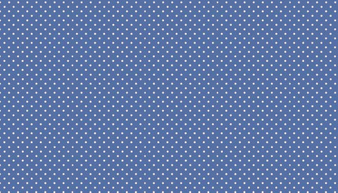 Makower Spot on - Marine Blue - 100% Cotton Fabric