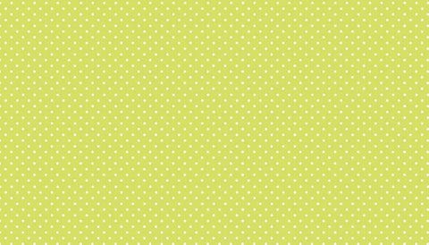 Polka Dot Fabric - Green Polka Dot Fabric by Makower | Buy Quilting Fabric Online