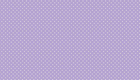 Makower Spot On - Lilac - 100% Cotton Fabric