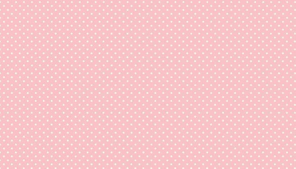 Makower Spot On - Baby Pink - 100% Cotton Fabric