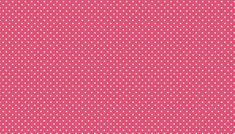 Pink Polka Dot Fabric - 100% Cotton Fabric by Makower | Buy Quilting Fabrics Online