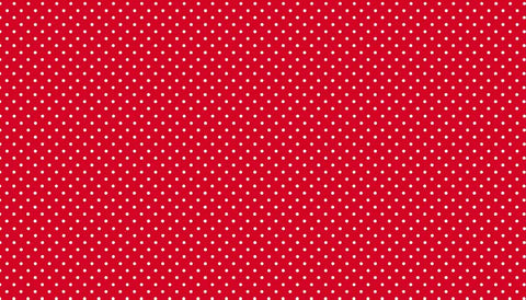 Makower Spot on - Bright Red - 100% Cotton Fabric