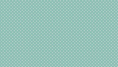 Makower Spot On - Teal - 100% Cotton Fabric