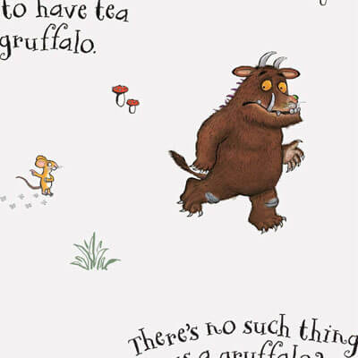 The Craft Cotton Co Gruffalo - No Such Thing - 100% Cotton Fabric