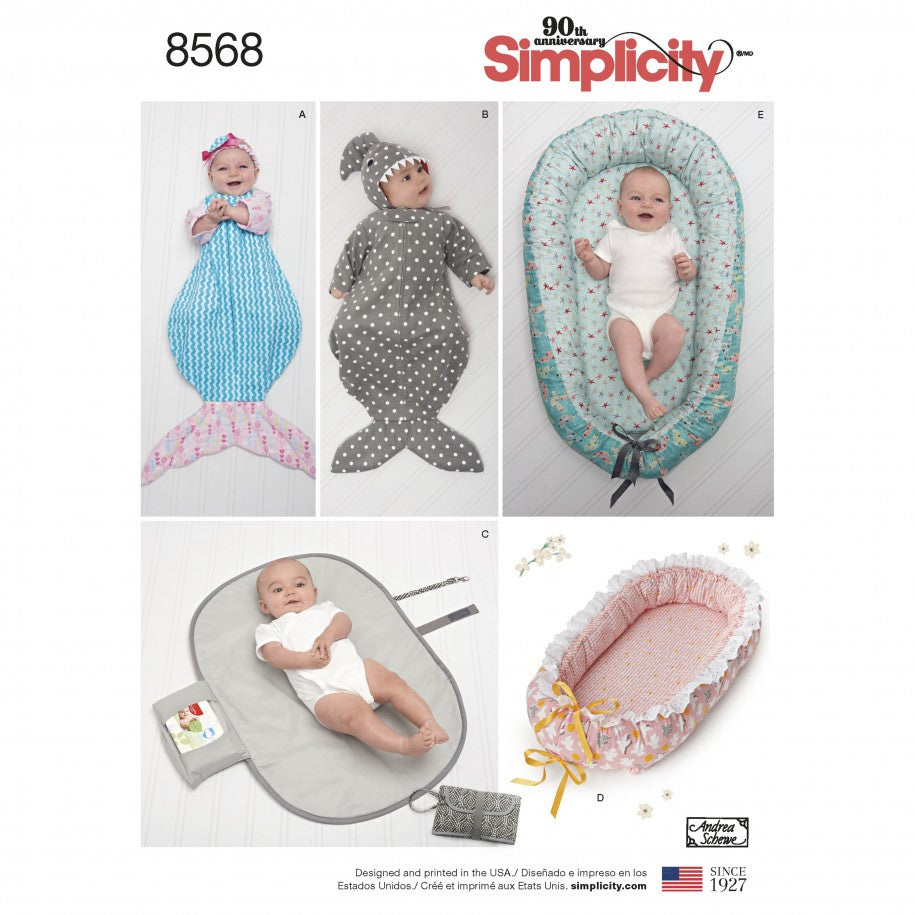 Simplicity Sewing Pattern 8568 - Baby Accessories