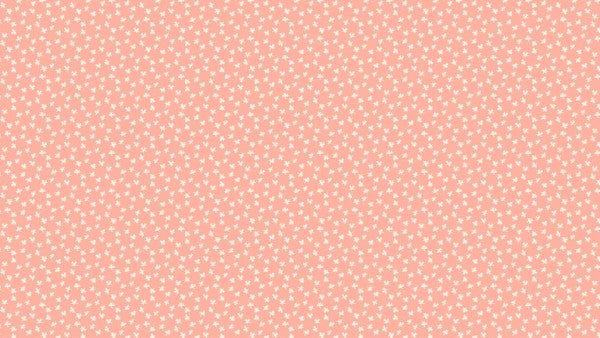 Makower Bijoux - Clover Cotton Candy - 100% Cotton Fabric