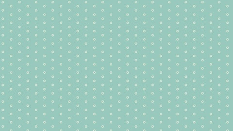 Makower Bijoux - Sol Wintergreen - 100% Cotton Fabric