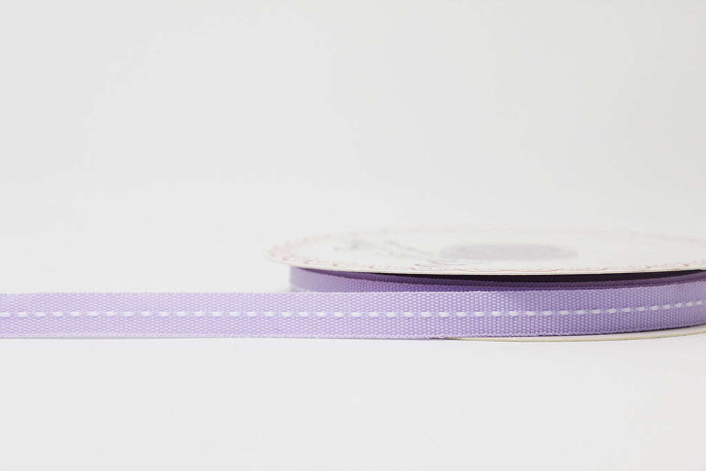 9mm Lilac Centre Stitch Ribbon