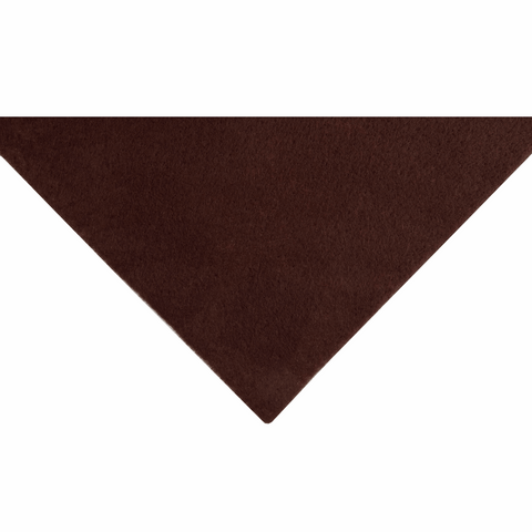 1m Felt Roll - Dark Brown