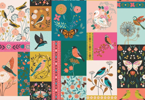 Dashwood Aviary Fabric Panel
