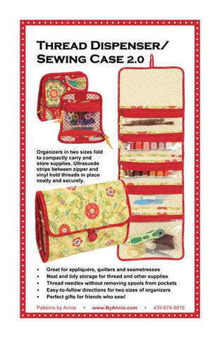 By Annie Bag Sewing Pattern - Thread Dispenser/Sewing Case