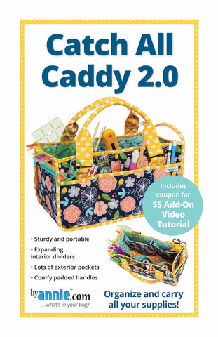 By Annie Bag Sewing Pattern - Catch All Caddy