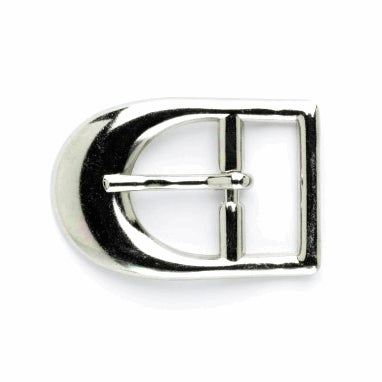 Vogue Star 20mm D Buckle - Silver