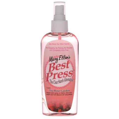 Best Press 6oz Tea Rose Garden Starch Spray