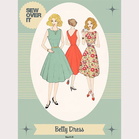 Sew Over It Sewing Pattern - Betty Dress
