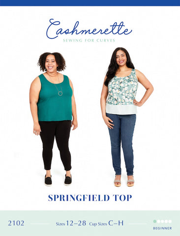 Cashmerette Sewing Pattern - Springfield Top