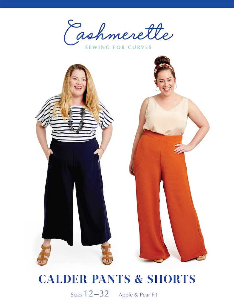 Cashmerette Sewing Pattern - Calder Pants & Shorts