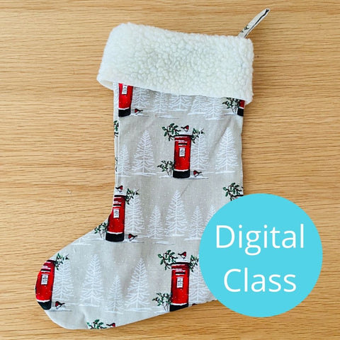 Digital Class - Christmas Stocking Project