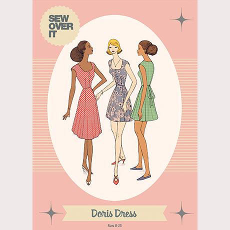 Sew Over It Sewing Pattern - Doris Dress