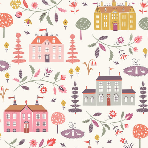 Dashwood Elinor - Mansions  - 100% Cotton Fabric