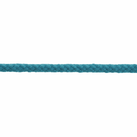4mm Coloured Cotton Braid Cord - Sky Blue