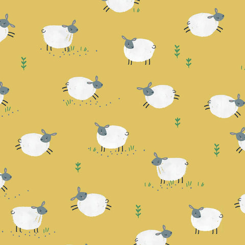 Dashwood Farm Days - Sheep - 100% Cotton Fabric