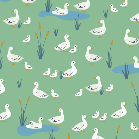 Dashwood Farm Days - Geese - 100% Cotton Fabric