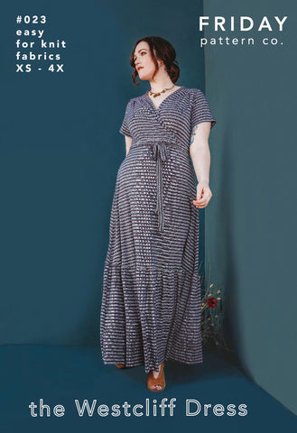 Friday Pattern Company Sewing Pattern - Westcliff Dress