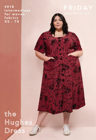 Friday Pattern Company Sewing Pattern - Hughes Dress/Top
