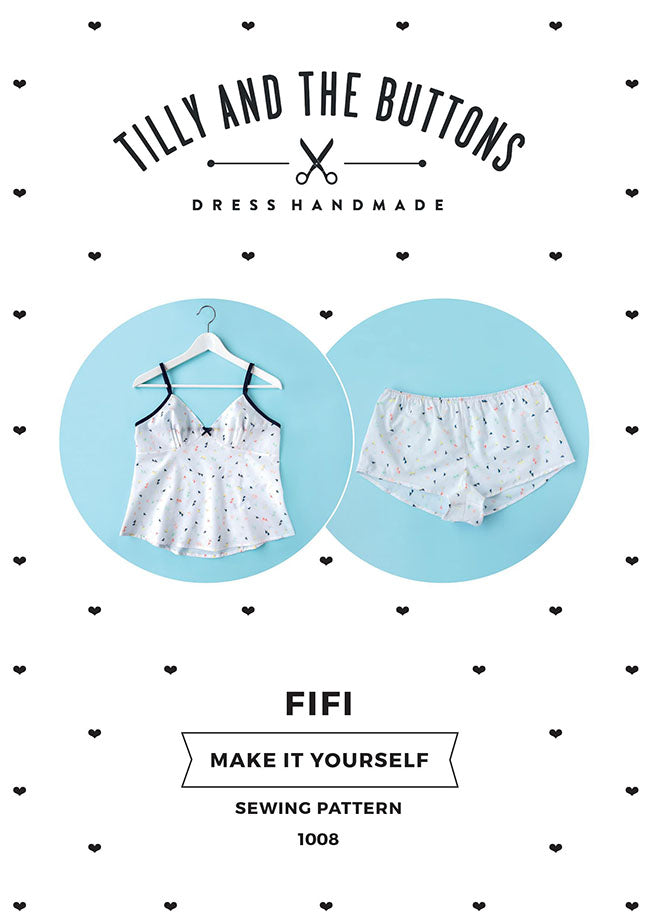 Tilly & The Buttons Sewing Pattern - Fifi Pyjamas