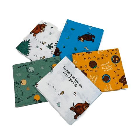 The Craft Cotton Co Gruffalo Fat Quarter Pack